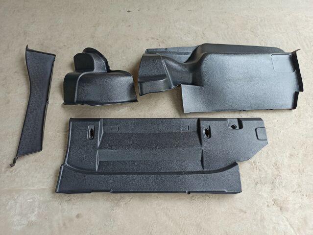 Обивка багажника ВАЗ 2106, Сызрань (4 части) ПЛАСТИК
