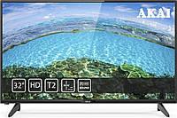 Телевизор Akai UA32HD19T2+Бесплатная доставка!