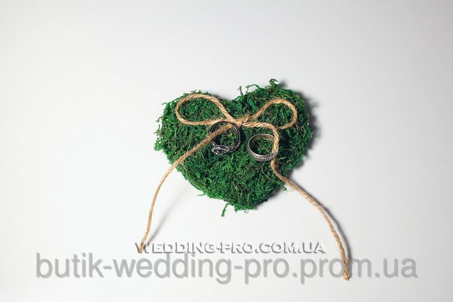 "Подушечка ""EKO-Love бантик"" green"