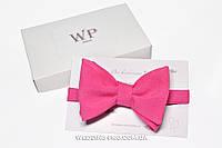 Бабочка на свадьбу розовая, фото 1
