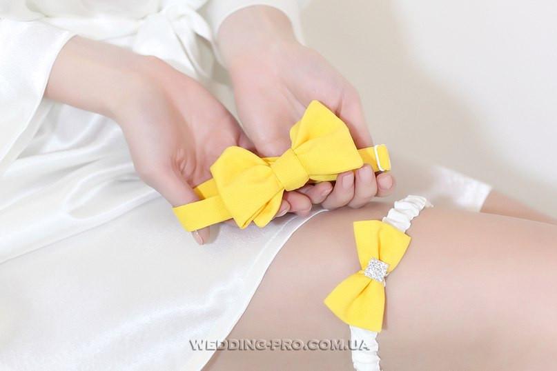"""Набор """"Стиляги"""" жёлтый"""
