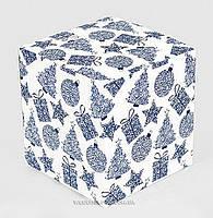 "Коробка ""Куб"" новогодняя"