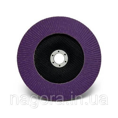 Торцевой конический лепестковый круг 3M™ Cubitron II™ P80, 125 мм