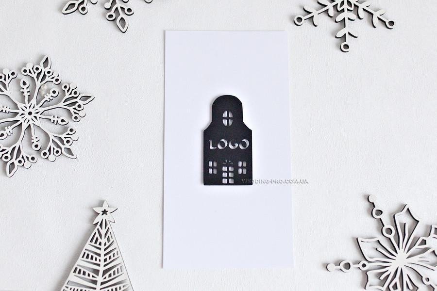 """Открытки """"House"""" с логотипом"""