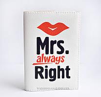 Оригінальні обкладинки для паспорта місіс - Mrs, 175 грн.