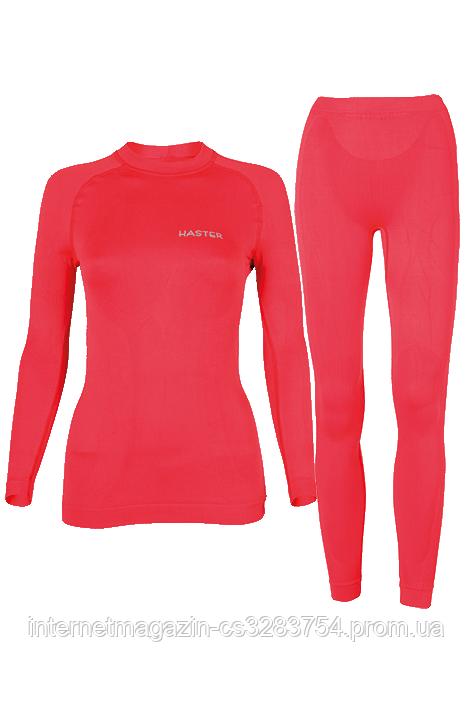 Комплект женского термобелья Haster ProClima M-L Красный (h0161)
