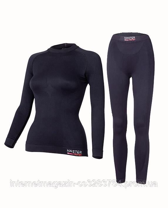 Комплект женского термобелья Haster ProClima XS Черный (h0155)