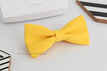 Бабочки для костюма жениха жёлтая