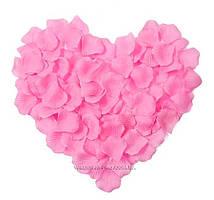 Рожеві пелюстки троянд