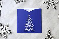 """Корпоративные открытки """"С новым годом"""" 2020 конверт, фото 1"""