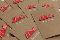 Дизайнерские новогодние открытки с вашим логотипом, фото 1