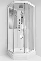 Гидробокс 90х90 AM.PM Gem Германия, низкий поддон, прозрачное стекло, W90C-018-090WTA