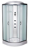 Гидробокс 90х90 Vivia 61 RC W низкий поддон, матовое стекло