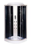 Гидробокс 90х90 Vivia ECO 61 CH низкий поддон, тонированное стекло