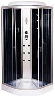 Гидробокс 90х90 Vivia ECO 61 R CH низкий поддон, тонированное стекло