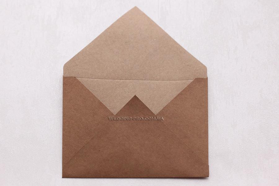 Крафт конверти щільність 125