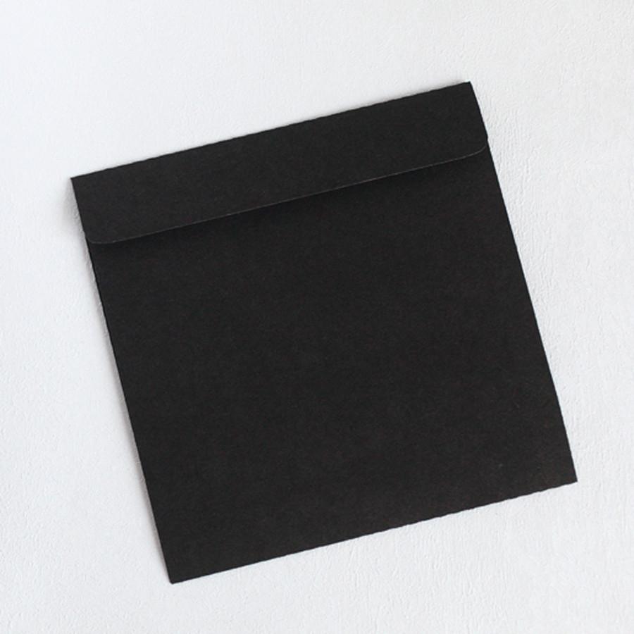 Конверт крафт черный