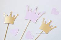 """Фотобутафория """"Принцесса"""" 3 шт розовая, фото 1"""
