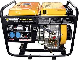 Электростанция дизель 1 Ф. 4.5 кВт Forte FGD6500E (29135)