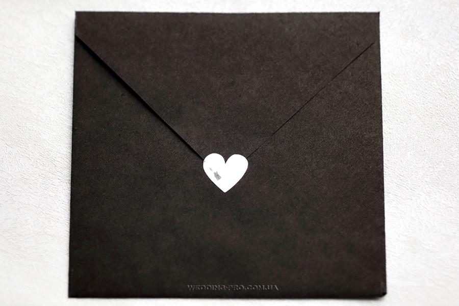 Наклейка сердце 2,5