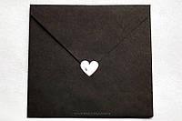 Наклейка сердце 2,5, фото 1