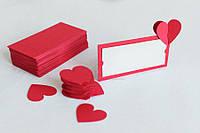 """Рассадочные карточки """"Сердечки"""" 3Д опт, фото 1"""