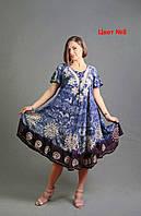 Летнее женское платье не облегающее  размер 54-58 недорого в Украине, фото 1