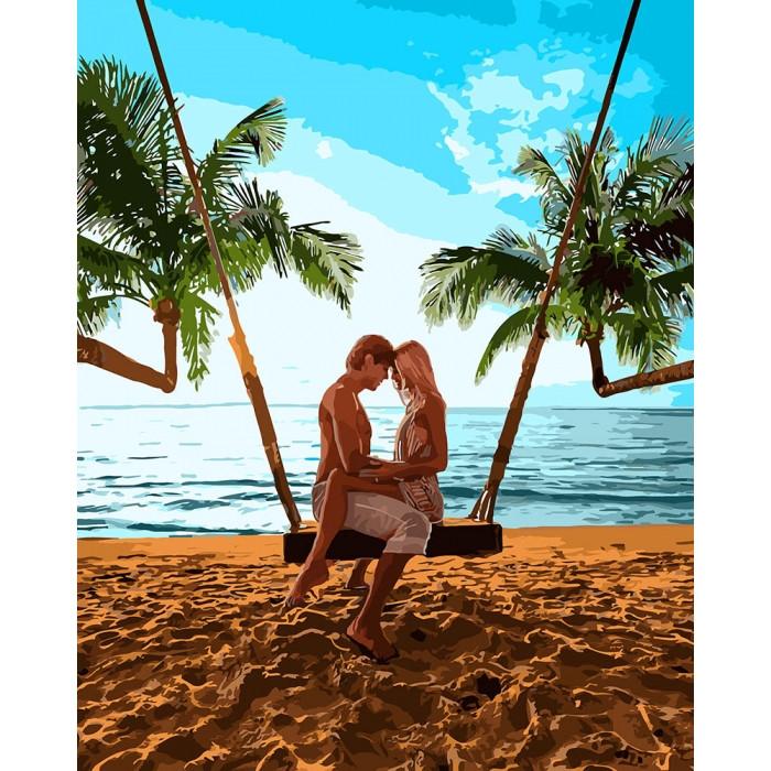 Картина по номерам Признание на побережье ТМ Идейка 40 х 50 см КНO4698