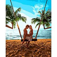 Картина по номерам Признание на побережье ТМ Идейка 40 х 50 см КНO4698, фото 1