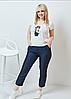 Костюм джинси і футболка, з 48-62 розмір