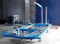 Стапель платформенный для рихтовки кузова автомобиля