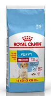 Royal Canin Medium Puppy 18 кг -  корм для щенков средних пород