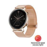 Смарт-часы Huawei Watch GT 2 42mm Refined Gold Elegant Ed (Diana-B19B) (55024610)