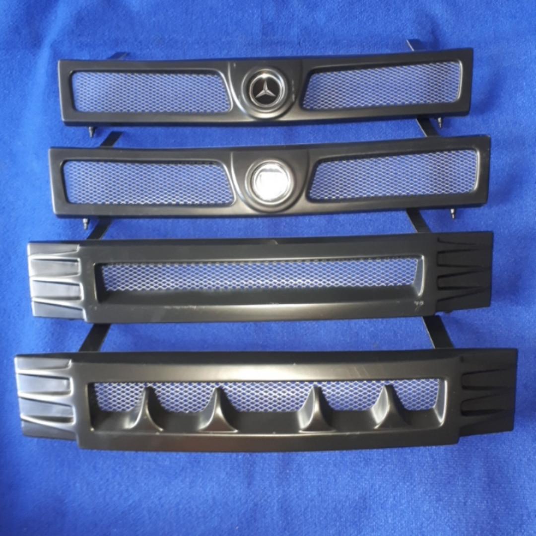 Решетка радиатора летняя тюнинг Славута ЗАЗ 1103 1105