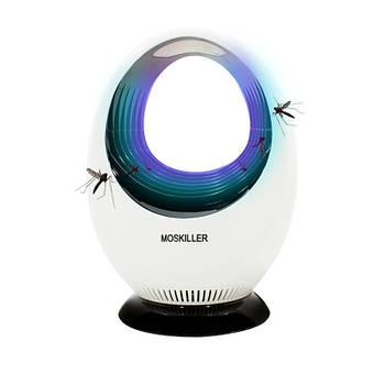 Электрический уничтожитель комаров Lesko DGS-150 White электроловушка для насекомых от USB мощность 5 Вт