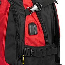Рюкзак Городской нейлон Power In Eavas 9648 red, фото 2