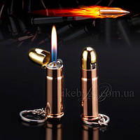 Кремниевая зажигалка брелок пуля , фото 1