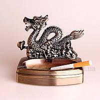 Пепельница с зажигалкой дракон., фото 1
