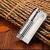 Фирменная бензиновая зажигалка imco 6700 Triplex silver