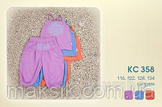 Летний комплект Бемби с бриджами  р.116, 122
