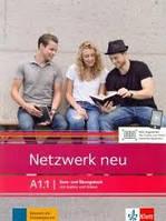 Netzwerk neu A1.1 Kurs- und Übungsbuch mit Audios und Videos