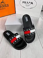 Шлепки TOMMY H обувь на лето сланцы тапки босоножки брендовая копия реплика