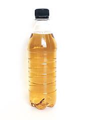 Пластиковая бутылка 0,5 л, прозрачная для минеральной воды, пива, сока, сладкой воды, мыла,  с крышкой