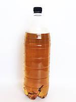 Пластиковая бутылка 1.5 л, прозрачная для минеральной воды, пива, сока, сладкой воды, мыла, с крышкой