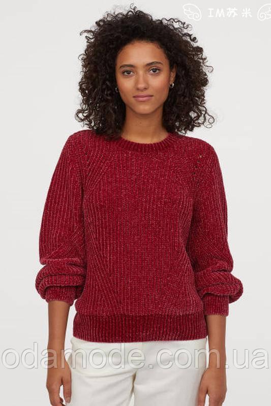 Свитер женский H&M бордовый