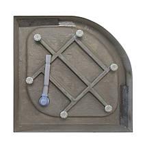 Піддон для душу EGER TISZA 80х80х15 акрил низький (+ сифон ), фото 3