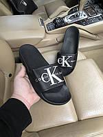 Шлепки CK обувь на лето сланцы тапки босоножки брендовая копия реплика
