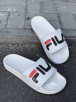 Шлепки FILA обувь на лето сланцы тапки босоножки брендовая копия реплика