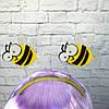 Ободок карнавальный Пчелка на пружинках