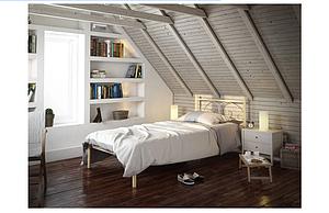 Кровать металлическая - Иберис мини